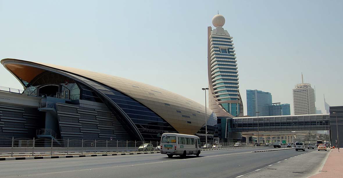 Dubai Metro Station Work From Dubai